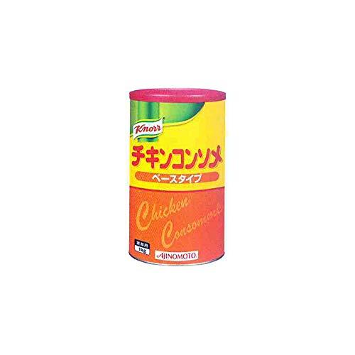 「クノールR チキンコンソメ」ベースタイプ 1kg缶×6