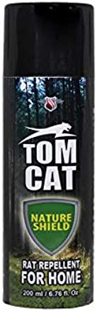 Shadow Securitronics Tom CAT No Entry Rat Repellent Spray for Home Garage Godown Highly Effective with Mask and Gloves Lasts 1 Year Leak Free Easy to Spray Nozzle 1st time in India