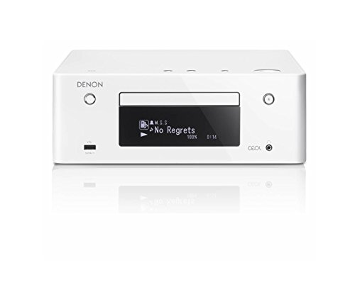 Denon RCD-N9 CEOL Netzwerk Kompaktreceiver (2x 65 Watt, Internetradio, DLNA, AirPlay, Bluetooth, Spotify Connect, App Steuerung) weiß
