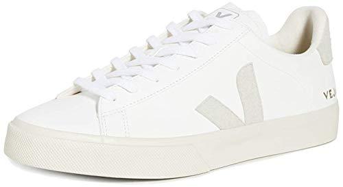 VEJA Campo Zapatillas Moda Hombres Blanco - 40 - Zapatillas Bajas