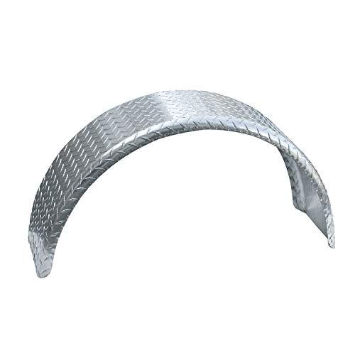 Tie Down 44836 Tread Brite Aluminum Fenders - 9' x 33.75' x 14.875'