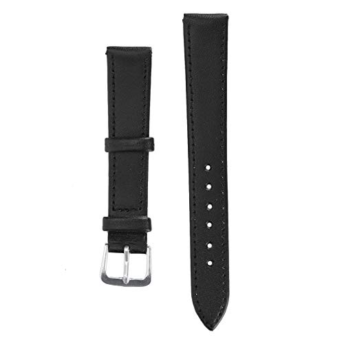 Accesorio de reloj, material suave, resistente, resistente, correa de reloj para taller de reparación de relojes para el hogar(16mm black)