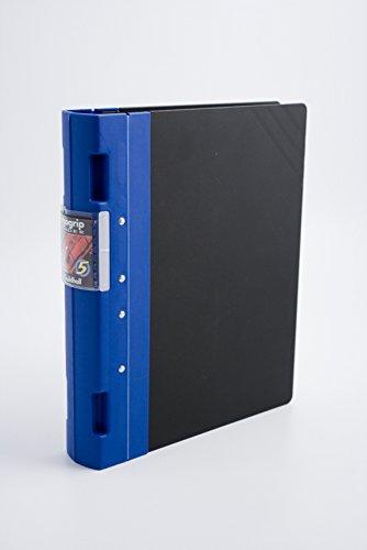 Guildhall GL Ergogrip Ordner aus Polypropylen 4 Zacken/2 Ringe 55 mm Heftkapazität A4 2 Stück blau