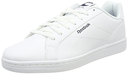 Reebok Royal Complete CLN, Zapatillas para Hombre, Weiss (White/Collegiate Navy 0), 42 EU