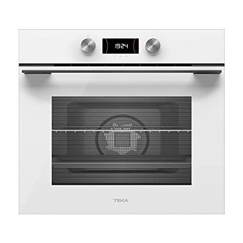 TEKA | Horno Multifunción | Urban Colors Edition | Modelo HLB 8400 | SurroundTemp 9 funciones de cocinado | Eficiencia energética A+ | Blanco | 59.5 x 59.5 x 55.9 cm