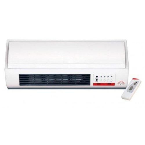 Riscaldamento Termoconvettore a parete split 3 velocità 2000 W timer e telecomando DCG TCM55