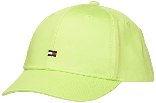 Tommy Hilfiger BB Cap Gorro/Sombrero, Lime Green, X-Large Unisex niños