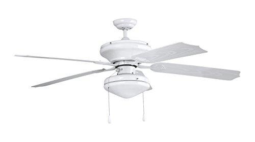 Orbegozo CP 94132 Plafondventilator met licht, voor buiten, PVC, wit