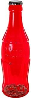 COCA COLA Coca-Cola RED Contour Bottle Bank
