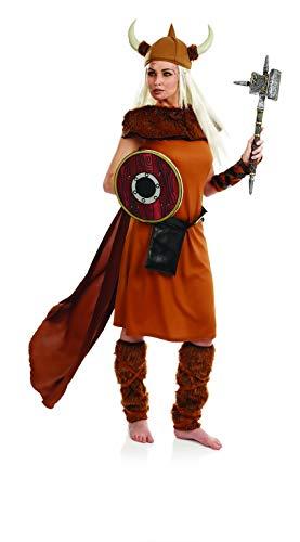 Fun Shack Déguisement Viking Femme, Déguisement Halloween Femme Taille M