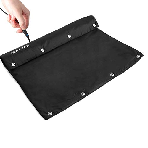 Qcute 13.7 X 14.8 Inch Multifunction Waterproof Heated Seat Cushion Warm Heating Pad Can Be Used as a Hand Warmer,Feet Warmer,Electric Blankets Heated Shawl to Warm Many Parts of The Body in Winter