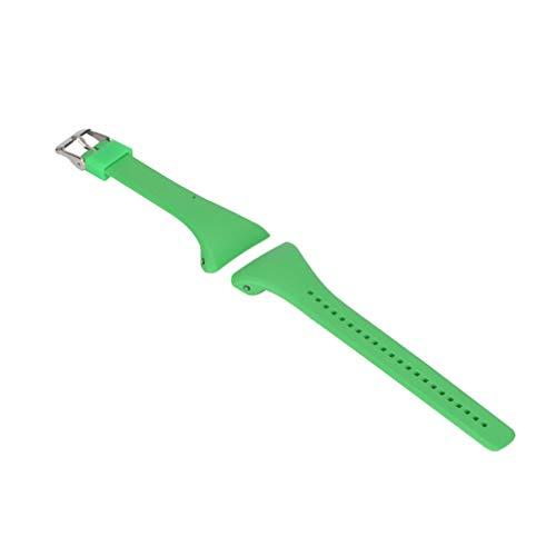 NICERIO Correa de Reloj Compatible con Polar FT4 / FT7, Correa de Repuesto de Correa de Reloj de plástico con Correa de muñeca de liberación rápida para Hombres y Mujeres (Verde)