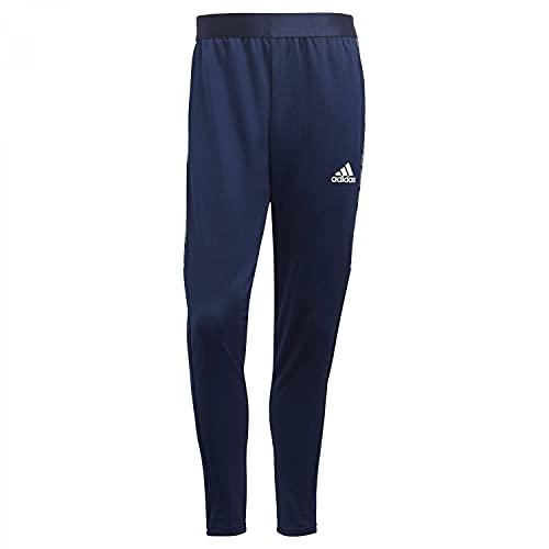 adidas GH7134 CON21 TR PNT Sport Trousers Mens Team Navy Blue/White L