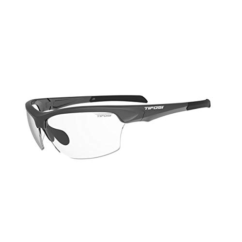 Tifosi Intense Sunglasses Matte Gunmetal/Clear Lenses
