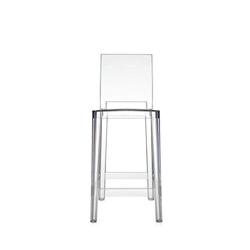 Kartell One More Please Stool Tabouret - Cristal, 65 cm