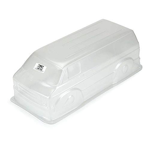 Pro-line Racing Clear Body, 70's Rock Van for 12.3' WB Crawlers, PRO355200