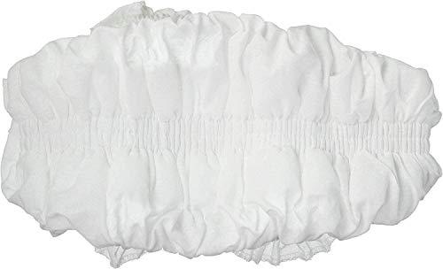 Cubre radiador blanco elástico, funda de radiador extensible de 36 cm a 80 cm, universal, cubre radiador, atrapa polvo, 100% algodón