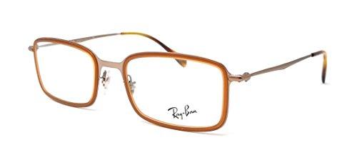 Ray-Ban Herren Brillengestell, braun - 2811: Brown - Größe: 51 mm