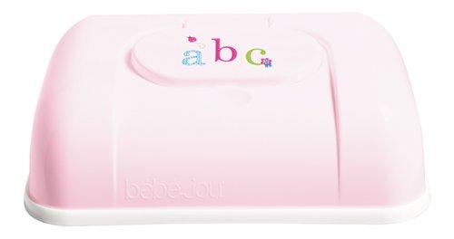 Bebe-jou 621344 - Caja para toallitas húmedas, diseño de ABC