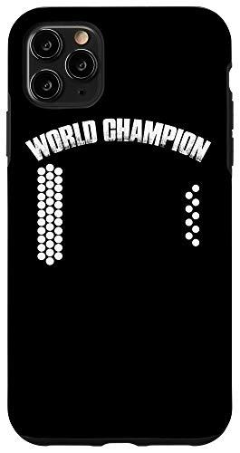 iPhone 11 Pro Max Air Accordion World Champion   Funny Music Gift Idea Case
