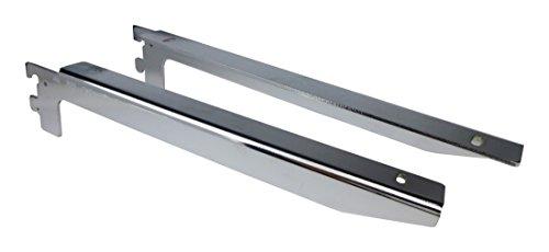 ロイヤル フォールドブラケット B-032/033 クローム 350㎜ 左右セット