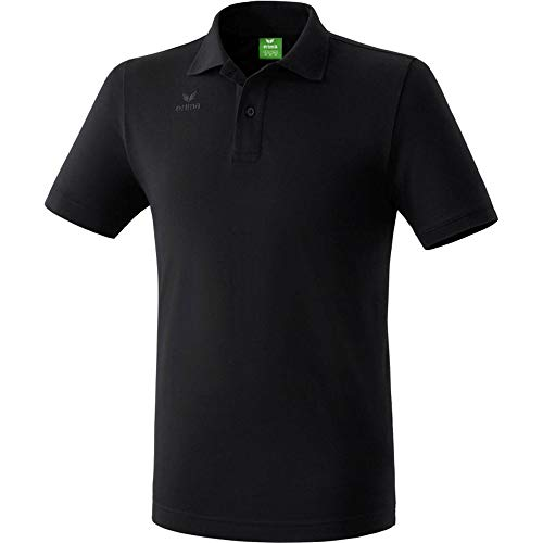 Erima Casual Basics Polo Homme, Noir, FR : L (Taille Fabricant : L)