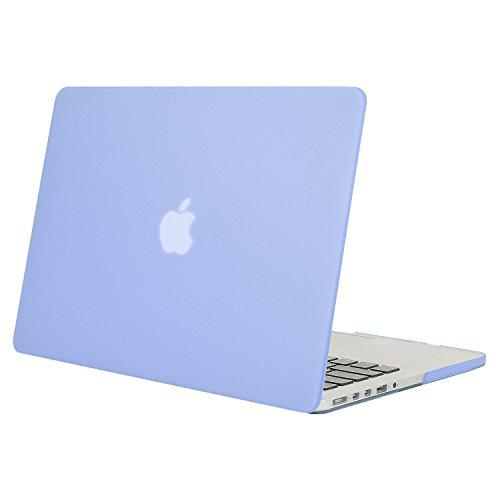 MOSISO Funda Dura Compatible con MacBook Pro 13 Retina A1502 / A1425 (Versión 2015/2014/2013/fin 2012), Ultra Delgado Carcasa Rígida Protector de Plástico Cubierta, Serenidad Azul
