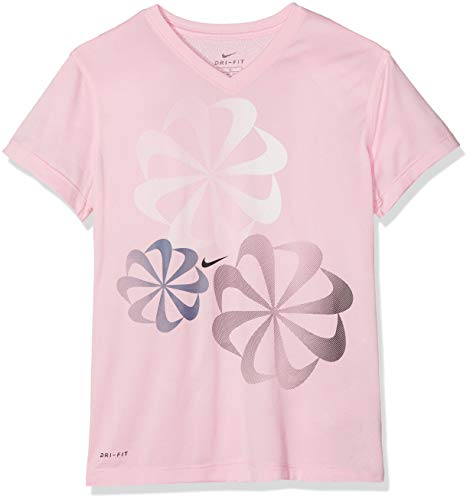 Nike Mädchen Dri-FIT T-Shirt, Pink, XS