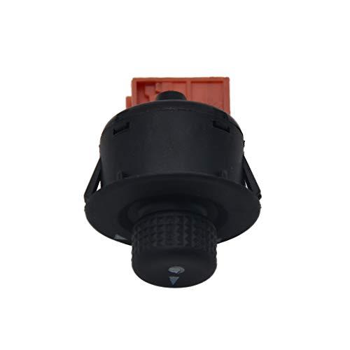 Guangcailun Reemplazo para el botón del interruptor de control Espejo Xsara Picasso Ajuste Perilla Reglento
