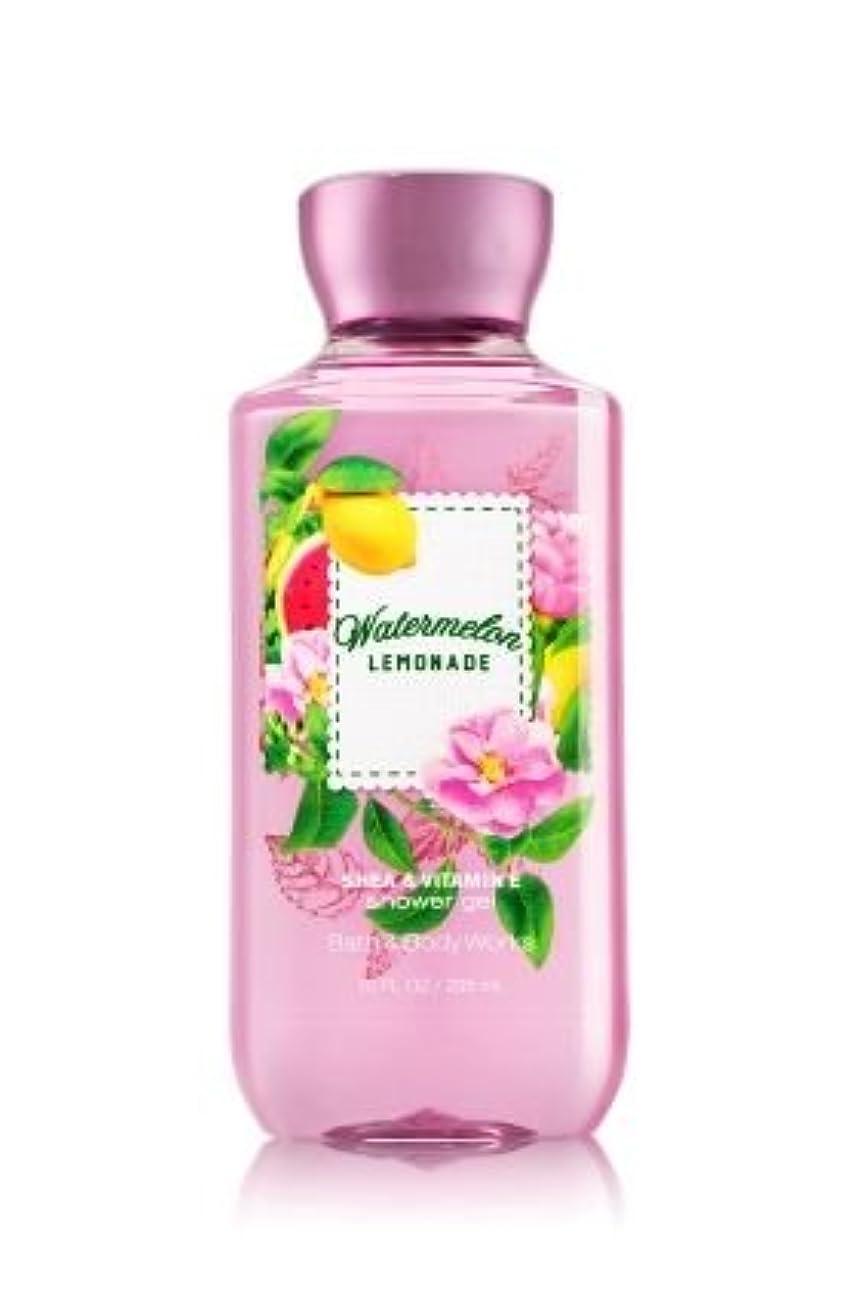 無駄歌詞印象派【Bath&Body Works/バス&ボディワークス】 シャワージェル ウォーターメロンレモネード Shower Gel Watermelon Lemonade 10 fl oz / 295 mL [並行輸入品]