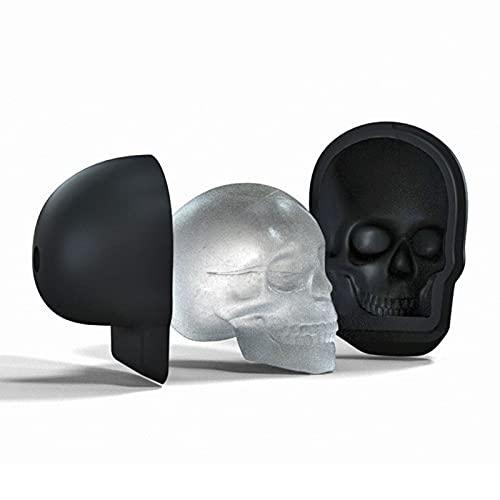 SUNDAY HOME Paquete de Cubitos de Hielo de Cabeza de cráneo, Bandeja de Cubitos de Hielo de Silicona con fácil liberación, creador de Cubos de Hielo Reutilizable para congelador, BPA Gratis