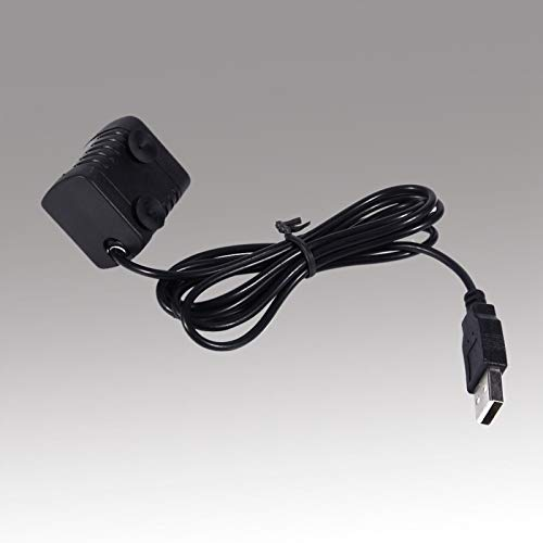 Bomba sin escobillas Mini bomba sumergible Enchufe USB Bomba de agua sumergible Fuente impermeable para acuario