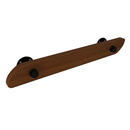 ARMREST 30-500cm. Barandilla con Soportes de tubería de Hierro - Kit Completo. para Interiores y Exteriores, escaleras de Madera, Escalera, pasamanos, barandilla, Soporte de riel