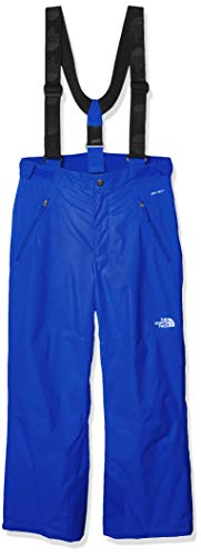 The North Face Youth Snowquest Suspender Plus Pant, TNF Blue, S