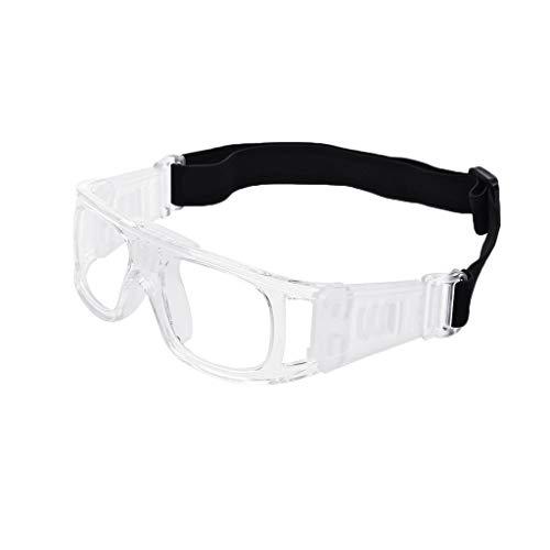 MSEKKO Sportbrillen Schutzbrillen Brillen Sicher Basketball Fußball Fußball Radfahren