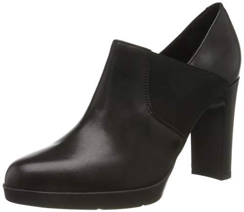 Geox D ANNYA High C, Zapatos de Tacón Mujer, Negro (Black C9999), 38 EU