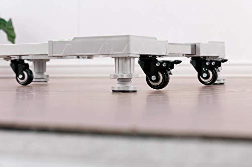 武田コーポレーション洗濯機スライド台ホワイト69×69×13㎝HB-PRSW44G