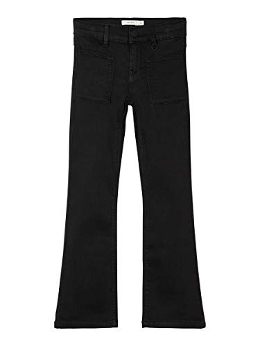 NAME IT Girl Bootcut-Jeans Powerstretch 152Black Denim