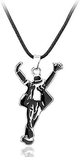 Collar Moda Wen Collar Clásico Joyería Collar Colgante Danza Cuero Cordón Collar Recuerdos Collar Colgante Cadena para Wen Hombres Colgante Collar Regalo para Hombres Mujeres Niñas Niños