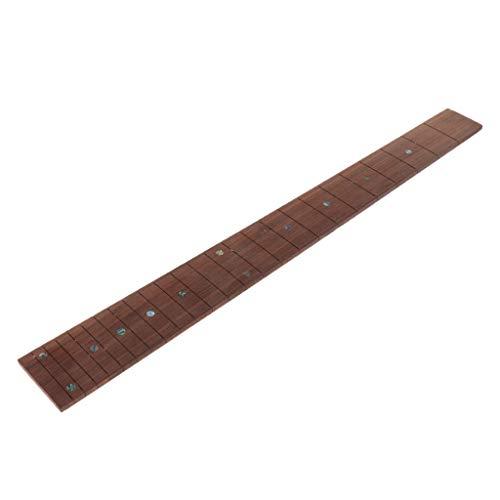 Guitarra Eléctrica/Bajo Diapasón De Palisandro Traste Placa Placa Accesorio Para Instrumentos Musicales...