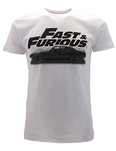 Sabor SRL T-Shirt Fast And Furious Originale Film Maglia Maglietta Ufficiale Auto (M)