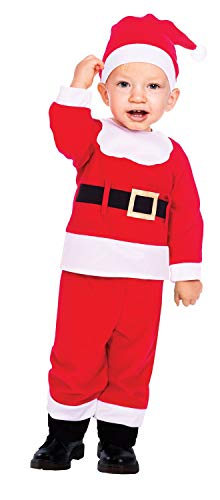 Babies Toddlers Childrens Boys Cute Santa Claus Suit Father Christmas Xmas Festive Fancy Dress Costume Outfit (2-3 Years)