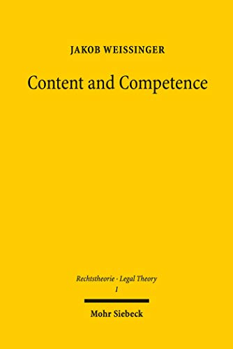 Content and Competence: A Descriptive Approach to the Concept of Rights (English Edition)