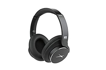 Altec Lansing Comfort Q+ Bluetooth Headphones Active Noise Cancellation Comfortable Quite Noise Cancelling Headphone Up to 26 Hours of Playtime 30 Ft Wireless Range Black