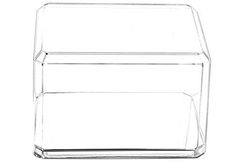 Pioneer Plastics - hochwertige Vitrine aus Acryl zum Sammeln und Verstauen eines Baseballs, mit 3M Klebepad, spiegelnder Boden