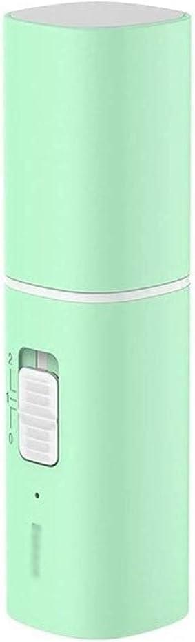 HEZHANG Ventilador de Pie de Pedestal, Ventilador Usb Portátil de Refrigeración, Mini Ventilador de Refrigeración Plegable, Recargable, 2 Velocidades, Ventilador de Mano Usb, 2000 Mah, Banco de Energ