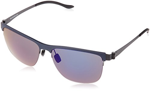 Mercedes-Benz Sonnenbrille M1038 Gafas de Sol, Azul (Blau), 56.0 para Hombre