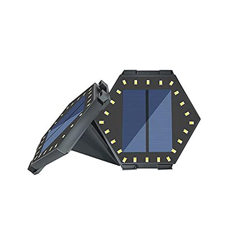 Wandskllss Luces solares de cubierta LED luces de paso solares al aire libre con super brillante impermeable escaleras lámpara de escalera para escaleras, caminos caminos patio valla