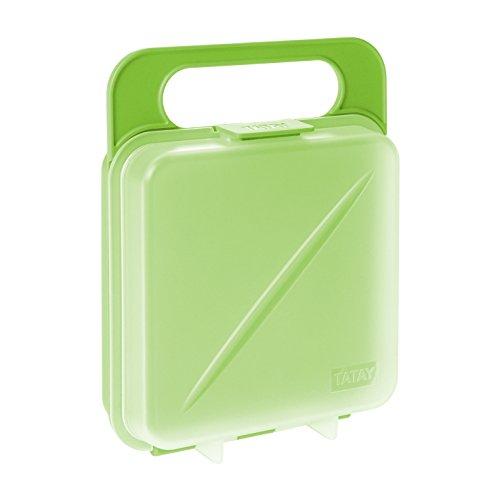 Tatay Porta Sandwich y Alimentos, Libre de BPA, Reutilizable
