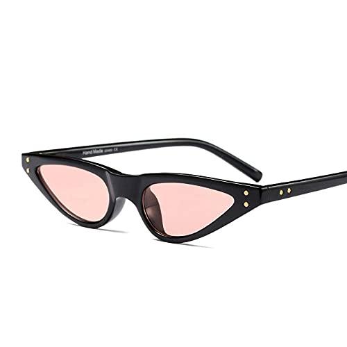 WANGZX Gafas De Sol Triangulares Pequeñas con Forma De Ojo De Gato Gafas De Sol De Moda para Hombres Y Mujeres Gafas De Sol Deportivas Al Aire Libre Uv400 Blackpink